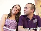 Watch a amateur twosome having fun in the home in front of the camera. They are screwing on the couch.