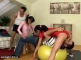 Petite European Blowjob